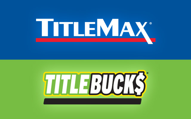 TitleMax and TitleBucks Logos