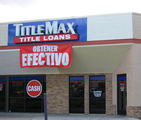 TitleMax in Tucson Arizona