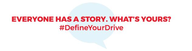 #DefineYourDrive: Adversity