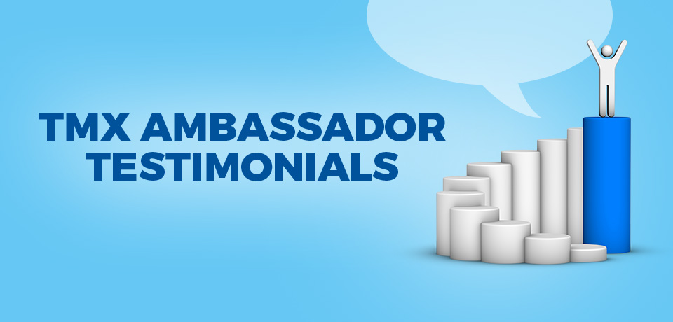 Check out this month's TMX Ambassador…Carmelita Rodriguez!