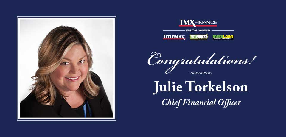 Julie Torkelson Appointed Chief Financial Officer