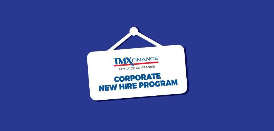 Corporate New Hire Program