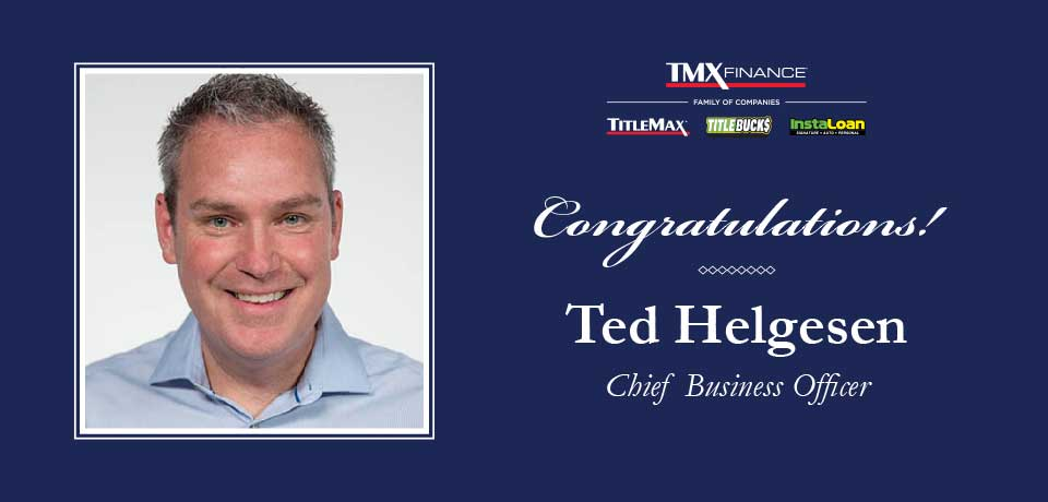 Ted Helgesen Named Chief Business Officer