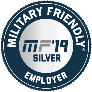 Military Friendly Employer Silver Badge