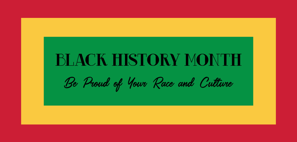 Be Proud of Your Race and Culture