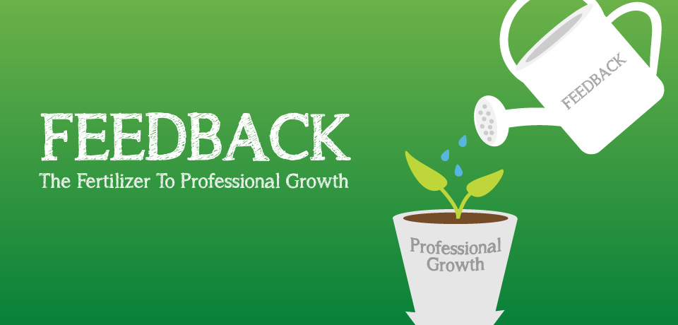 Feedback: The Fertilizer to Professional Growth