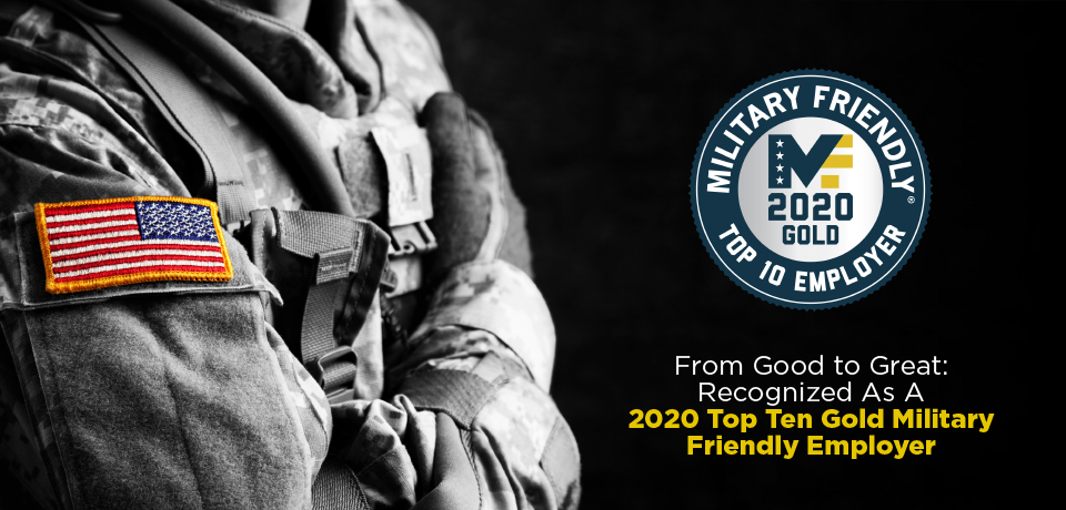 TMX Finance® Family of Companies Earns 2020 Top Military Friendly® Employer Designation