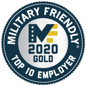 Military Friendly Employer Gold Badge