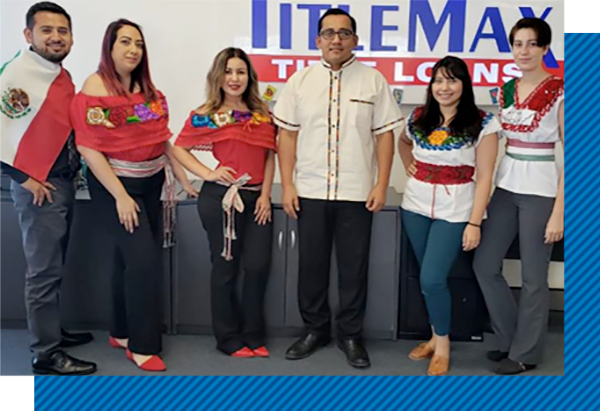 Group of TitleMax employees