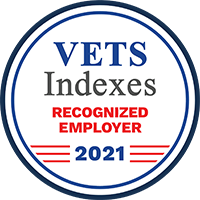 Vets Indexes Recognized Employer 2021